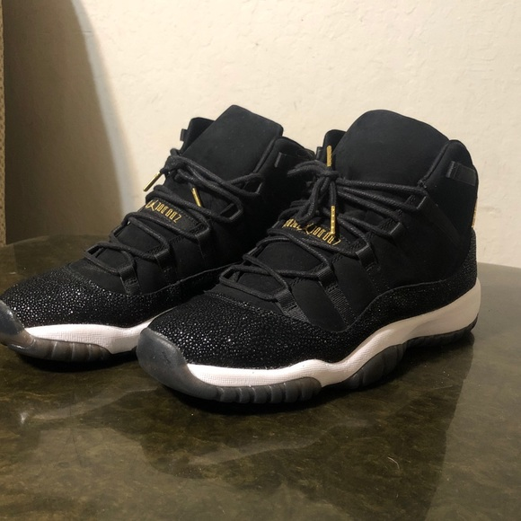 online store dfcd9 0607d Air Jordan Retro 11 Heiress Black Stingray